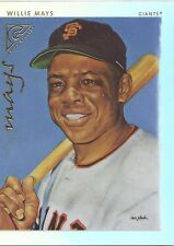 Willie Mays GIANTS 2003 Topps Gallery ARTIST PROOF # 191