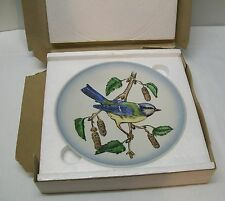 Bird Plate Blue Titmouse Wildlife Second Edition Box Goebel W. Germany