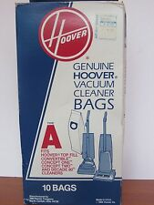 (10) Hoover Genuine Vacuum Cleaner Bags Type A Upright Janitor Carpet