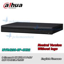 Dahua Neutral Versio NVR4208-8P-4KS2 8Ch 8PoE 4K&H.265 Network Video Recorder