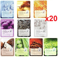 20 pieces x [TonyMoly] Pureness 100 Sheet Mask 21ml Tony Moly Face Sheet Mask