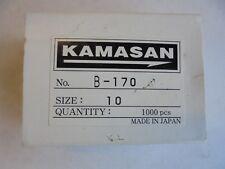 kamasan b170 fly tying and bait hooks x 50 size 10.