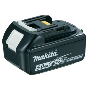 Makita Li-Ion Akku Schiebeakku 18 V 5,0 Ah BL1850B Ladestandsanzeige Original