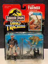 """KENNER JURASSIC PARK DINO TRACKERS SGT. """"T-REX"""" TURNER W/LAUNCHING COMPOUND BOW"""