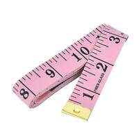 BODY MEASURING RULER SEWING CLOTH TAILOR TAPE MEASURE SOFT FLAT 60IN 150CM F5A5