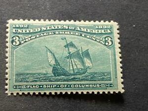 1893 US COLUMBIAN EXPOSITION SCOTT # 232