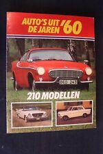 Elmar Book Auto's uit de jaren '60 210 modellen (Nederlands)