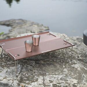 Aluminium Alloy FOLDING TABLE Portable Outdoor Picnic Camping MULTI-FUNCTIONAL