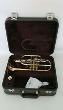 More details for cornet besson sovereign 928 gs in bb in gold with mouthpiece & hard case outfit