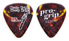 Vintage Cheap Trick Rick Nielsen Pro-Grip Brown Guitar Pick - 1986 Tour