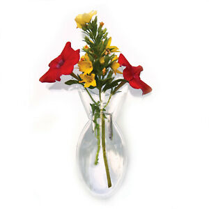 Window Vases Vinyl Mini Oval Style 2 Pk Suctions to Windows Mirrors 84130