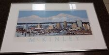 Jon Van Zyle McKinley Print Signed and Framed