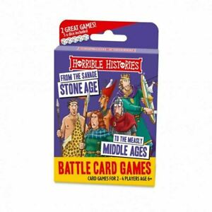 Horrible Histories Battle Stone Age Card Game (pl)