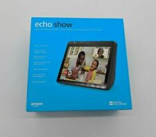 "New Amazon Echo Show 2nd Generation Smart Assistant 10"" Screen Charcoal -SB0704"