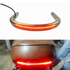 25mm Tube Cafe Racer Rear Seat Frame Hoop Loop  with LED Brake Turn Tail Light