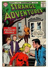 VG+ (4.5) Strange Adventures 176 DC Comics 1964 Faceless People