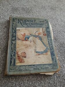 RUPERT AND THE OLD MISER  Illustrated by Tourtel Mary 29 pages book