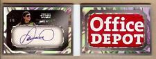 "2013 PRESS PASS FIVE STAR BOOKLET DANICA PATRICK AUTO ""OFFICE DEPOT"" PATCH 1/1!!"