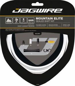 Jagwire Mountain Elite Sealed Shift Kit White