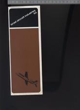 (192) Brochure aviation Aircraft BEA Trident l'avion sur mesure