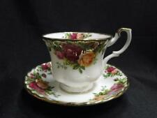Royal Albert Old Country Roses, England, Yellow, Red: Cup & Saucer Set (s) 2.75""