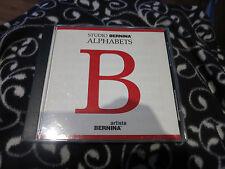 Studio Bernina Alphabets Embroidery Designs Memory Card Artista Bernina