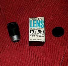 Tokyo Kogaku TV Topcor 1.6 / 9mm Video Super Wide Lens