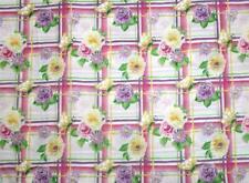 """Donna dewberry Garden Party colorido a cuadros Mariposas florales de tela de algodón 35""""L"""