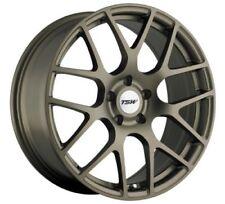 18x8 TSW Nurburgring 5x120 Rims +35 Matte Bronze Wheels (Set of 4)