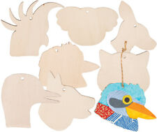 Australian Animal Wooden Bauble Craft - Decorate your own - pack of 1 assorted