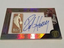 Panini Gold Standard 2011 Robert Horry NBA Logoman Auto Patch