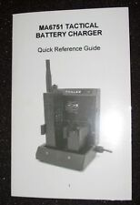 NEW DC Thales 2-slot Tactical Charger MA6751 MBITR PRC-148 SINCARS RADIO an LIon