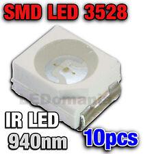 125/10# LED CMS IR 940nm-- 10 pcs  -  Plcc-2 TL  SMD