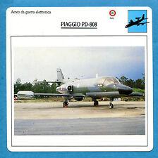 SCHEDA TECNICA AEREI - PIAGGIO PD-808 - (ITALIA)