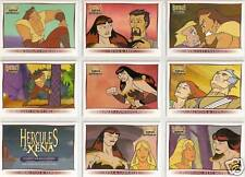 Hercules Xena 72 card base set and checklist trading card