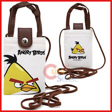 Rovio Angry Birds Multipurpose Pouch Bag with Shoulder Strap : Yellow Bird
