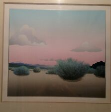 "Doug West, ""First Breath"", Ltd ed serigraph, 1983 framed. Free shipping lower 48"