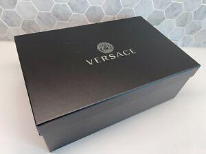 "Versace 14""x8""x4.5"" Empty Sneakers Black GIFT BOX Logo for Bag/Shoe Sandal Heel"