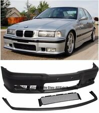 M3 Style Front Replacement Bumper Cover W/ Lower Lip For 92-98 BMW E36 3-Series