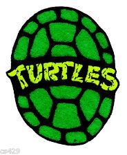 """2.5"""" Tmnt teenage mutant ninja turtles half shell fabric applique iron on"""