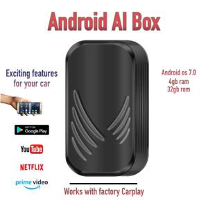 Android AI Box for Factory Carplay + Touchscreen Youtube Netflix Honda Kia Mazda