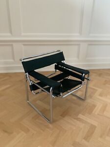 Dollhouse Miniature MCM Wassily Chair Artist Kim Selwood un-signed---ESTATE
