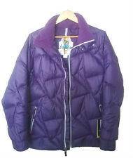 NWT Women's BURTON Blaze Down Insulator Winter Jacket Puffer Violet Size L
