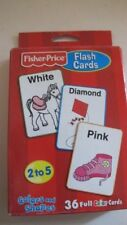 Fisher Price Flashcards. Colors and Shapes. Grades 2-5. New
