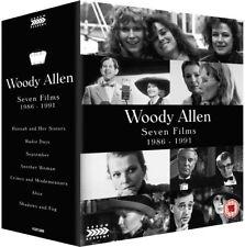 Woody Allen - Seven Films 1986-1991 Arrow Academy Blu-ray Box Set RARE OOP