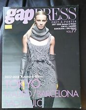 GAP PRESS MAGAZINE 2007-2008 autumn and winter volume 77  Pret-A-Porter