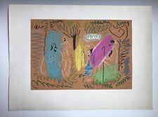 Pablo Picasso 1965 Impressionist Art Lithograph Cercle D'Art