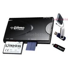 Card Reader, Wireless WiFi USB Hub 1500mAh External Battery 3G HD Router S6U8