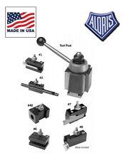 Aloris CXA Quick Change Lathe Tool Post 7 pc Holder Set #3-SET