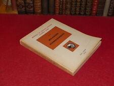 [Coll R.JEAN MOULIN ETHNOLOGIE AFRIQUE NOIRE] IFAN -MELANGES ETHNOLOGIQUES 1953